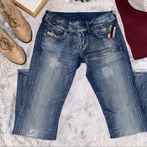 🌸 2/$35 🌸 Rare Diesel Cherone Jeans NWT